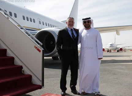 Royal Jet takes delivery of a 34-seat Boeing Business Jet
