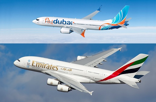 Emirates and flydubai announce new partnership