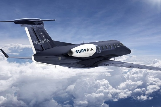 Surf Air brings all-you-can-fly jet
