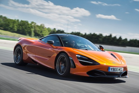 McLaren Automotive announces record sales