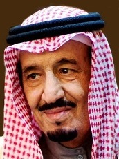 Custodian of the Holy Mosques H.M. King Salman bin Abdulaziz Al Saud, King of Saudi Arabia